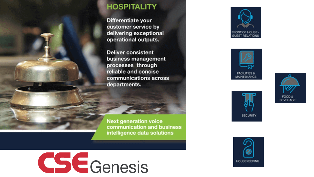 Two Way Radio Hospitality CSE Genesis